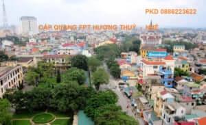 Khuyến mãi lắp đặt cáp quang FPT Hương Thuỷ Huế